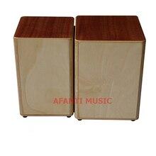 Afanti Music Mahigany Birch Wood Natural Cajon Drum KHG 202