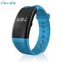 Bluetooth smart watch wristband pulsera podómetro del ritmo cardíaco monitor de la presión arterial de oxígeno de la sangre de fitness salud pulsera # dec20