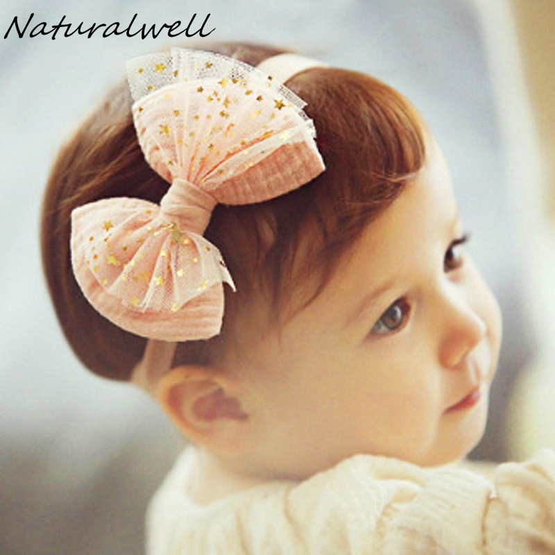 Naturalwel Kids lace hairband Floral head band Little girls hair accessories Cute girl enfant loves flower headwraps bebes HB051 girls headbands newly design cute kids flower head wear hair may11 drop shipping sunward