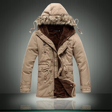 2016 the new cotton-padded clothes long young students comfortable cotton-padded jackets/Male high-grade warm hooded long coat