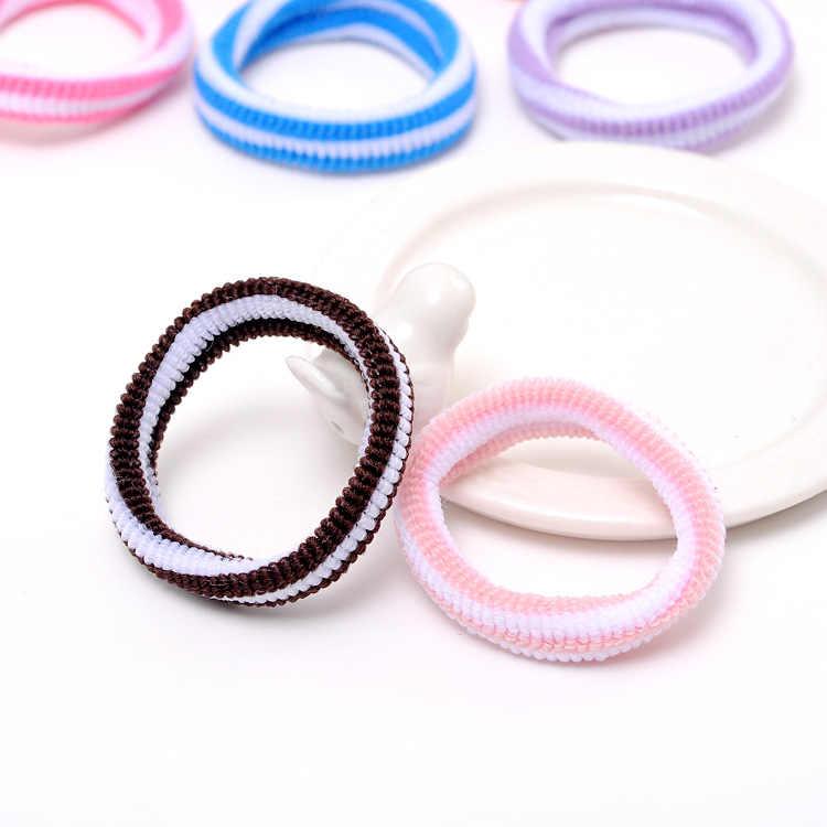 Диаметр 4,5 см 1 шт./лот красочные милые эластичные резинки для волос для маленьких девочек Детские аксессуары для волос резинка для волос