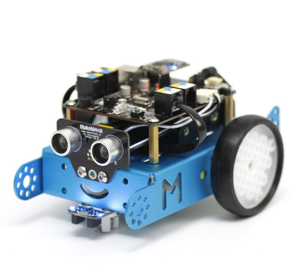 Eleduino Makeblock for Arduino Mbot Educational Robot Kit Blue (Bluetooth Version) makeblock xy plotter robot kit