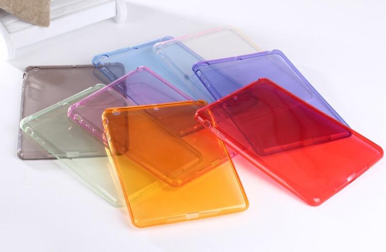 Heißer verkauf ultradünne kristall transparent klar smart weiche - Tablet-Zubehör