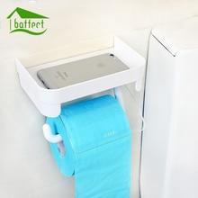 Baffect настенный держатель для туалетной бумаги, пластиковые туалетные бумажные салфетки в рулонах, держатели с подставкой для хранения телефона, аксессуары для ванной комнаты