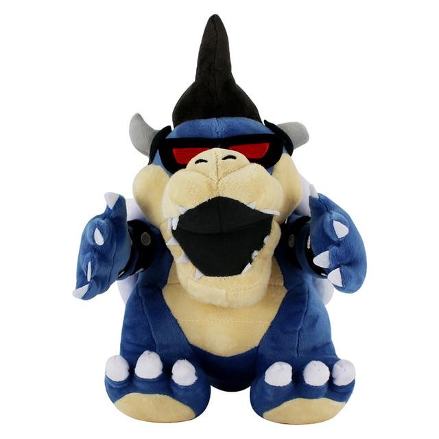 30 cm Super Mario Bowser Koopa 3D Terra Kubah dragão Osso Ossos Secos Brinquedo de Pelúcia Reforçar pelúcia macia stuffed dolls bowser Koopa