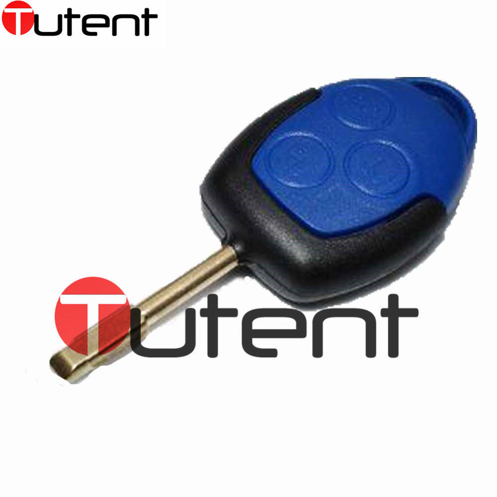 Keyless entry remote key 3 button fob 433mhz for ford transit with chip 4d63 china