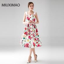 На заказ; большие размеры платье s-7xl весна и осень Мода Спагетти ремень Для женщин с цветочным принтом элегантные slimknee-Длина платье Для женщин