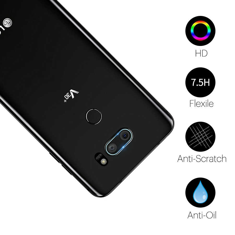Lentille arrière en verre trempé pour LG G8 G7 G6 G5 V10 V30 protecteur d'objectif arrière pour LG G5 G6 G7 V10 V30 couvercle de Film en verre trempé