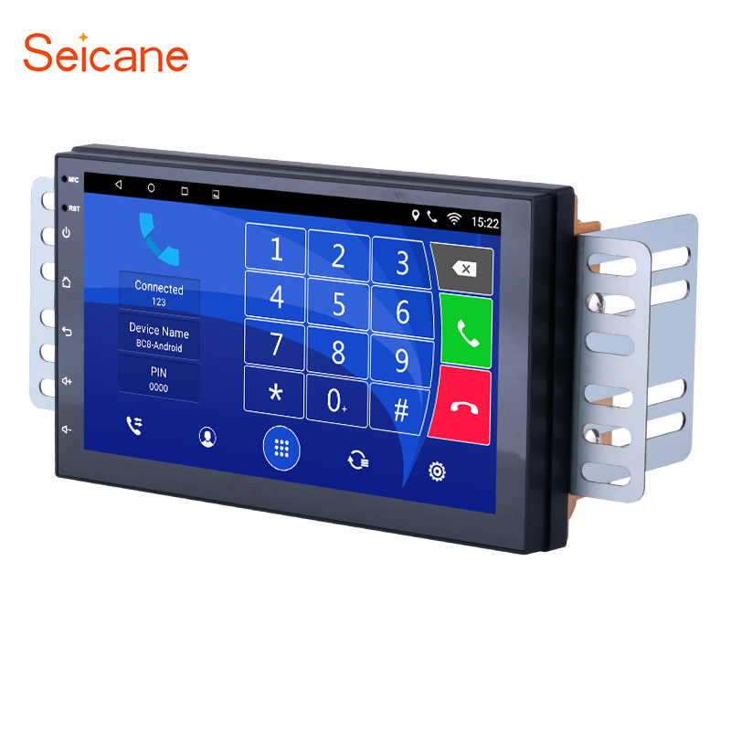 Seicane Android 6.0 Quad core Car Radio GPS 2Din Universal Multimedia Player For NISSAN TIIDA 2004 2005 2006 2007 2008 2009 2010