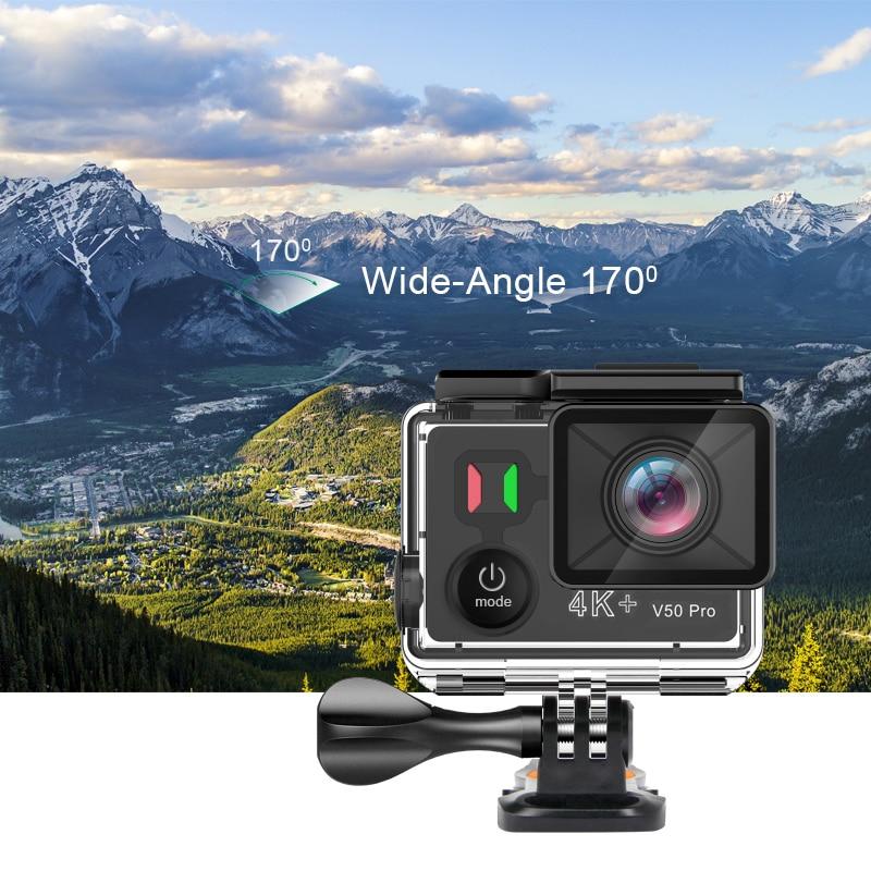 Date EKEN V50 Pro Action Caméra Ambarella Chipset Sony Capteur 4 k 30FPS Moto Caméra WiFi Étanche Mini Sport Caméra - 3