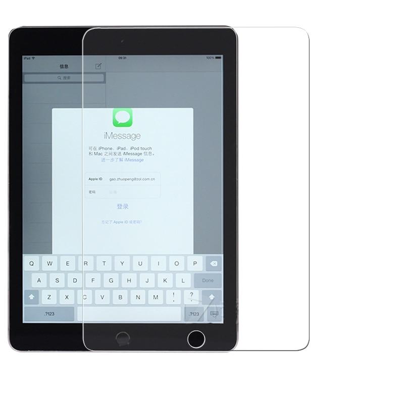 فیلم ضد شیشه ضد نازک فوق العاده نازک برای ipad air 2 iPad 6 Tablet PDA فیلم محافظ صفحه نمایش ضد انفجار اصلی