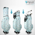 Pgm Traveling Golf Multi-Purpose Trolley Bag Golf Clubs Hard Bag With Stand Wheels Printing Golf Cart Bag Staff Golf Bags D0476