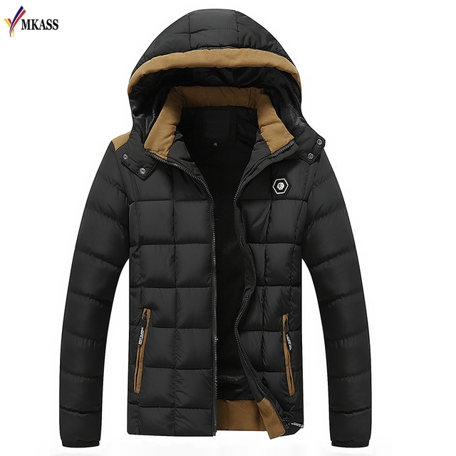 c172f8a194a 2018 New Arrival Mens Winter Jackets and Coats Thicken Warm jacket Men Coat  Hooded Cotton-Padded Male Clothing Hommer Parkas
