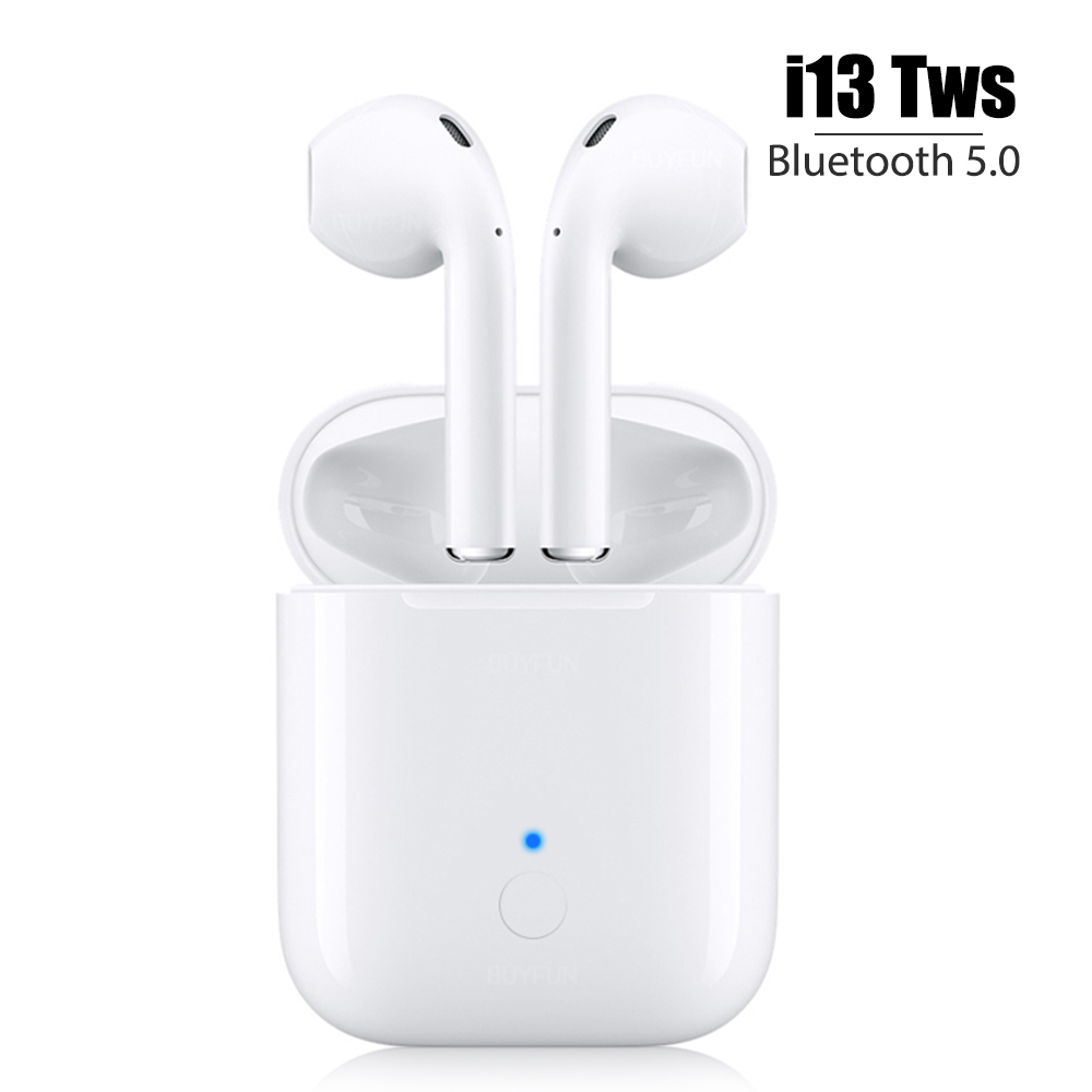 $27.97 New i13 tws i13tws for air pods Bluetooth Earphone Earbuds Wireless not i10 i11 i12 pods for iphone samsung android X XS Max