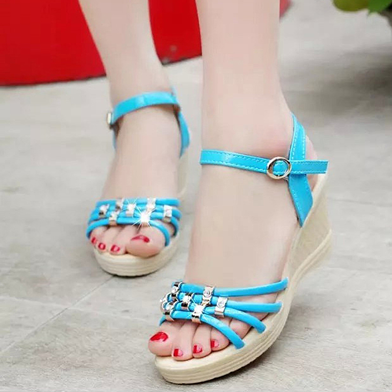 Wedge Sandals Roman Shoes Bohemian Casual Fashion Women