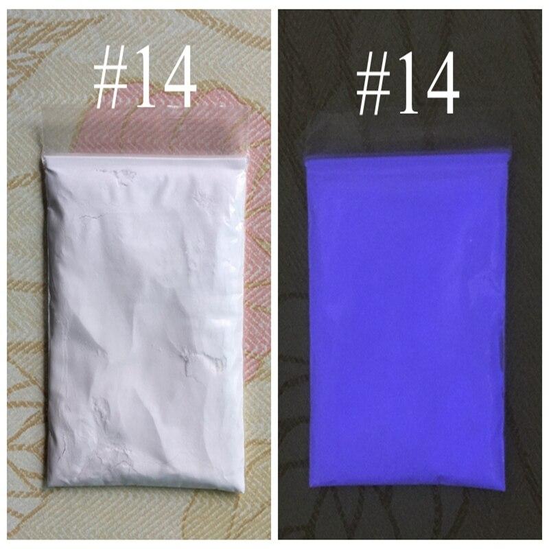 14 цветов на выбор, люминисцентный фосфорный порошок для DIY краски 10 г/пакет, лак для ногтей, светящийся порошок, светится в темноте