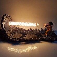 Dragon Ball Z Сон Гоку тройной Kaiouken DIY светодиодный ночник аниме Dragon Ball Z DBZ светодиодный настольный светильник Сон Гоку фигурка куклы