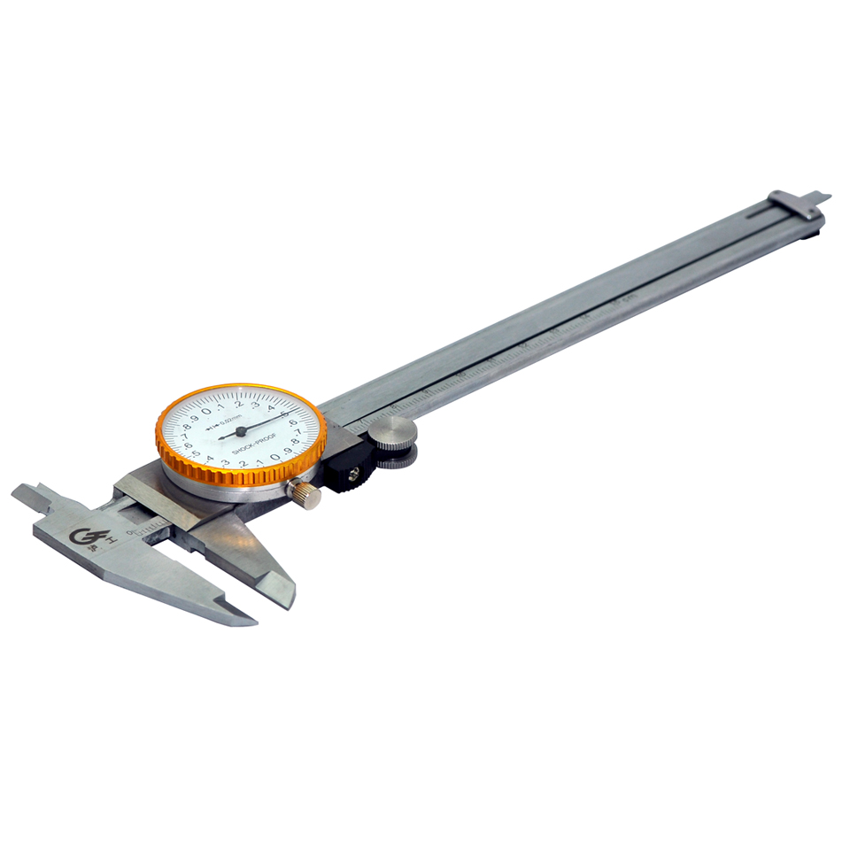 Electronic Measuring Equipment : Dial mm shock proof metal vernier caliper metric