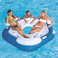 Marine reclining chair water floating bed floating bed floating pool swimming pool accessories 191cm*178cm