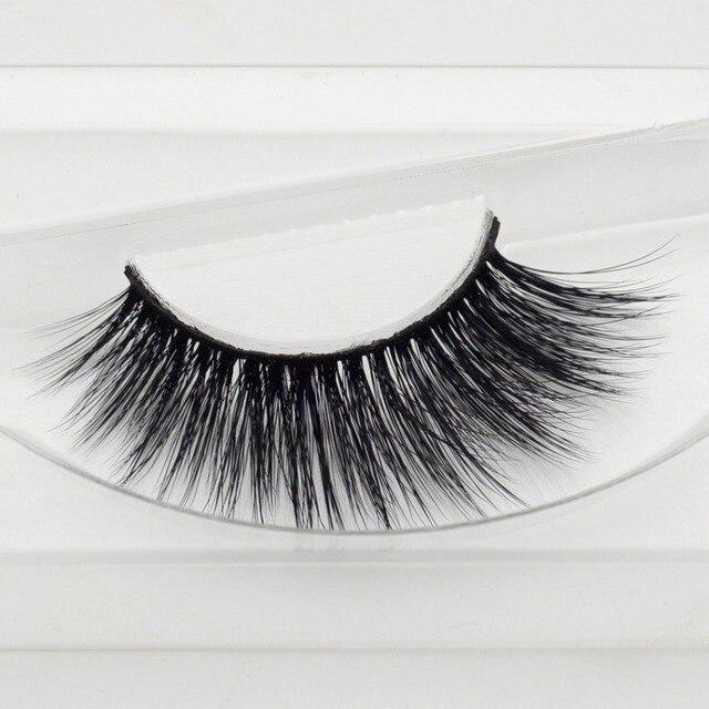 1 pair Bridget mink eyelashes 3D MINK False Eyelashes Hand Made Full Strip Lashes Fake Eye Lashes Professional Makeup Lashes 3