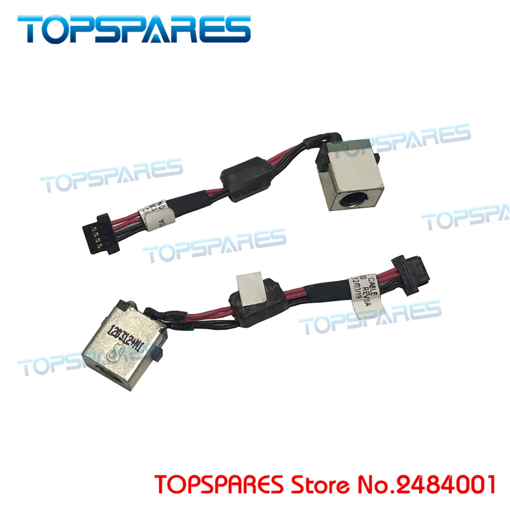 New Laptop DC Power Jack Socket Connector Cable For Acer For Aspire One 722 DC30100F100 DC Power Jack ON/OFF storage cable