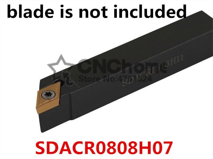 SDACR0808H07 8*8mm Metal Lathe Cutting Tools Lathe CNC Machine Turning Tools External Turning Tool Holder S-Type SDACR