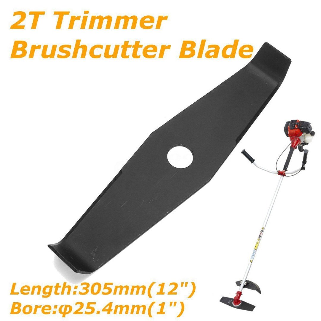 FGHGF Black 12 2T 2 Tooth Brushcutter Brush Trimmer Blade 305mm X 25.4mm X 3.0mm evolis avansia duplex expert smart