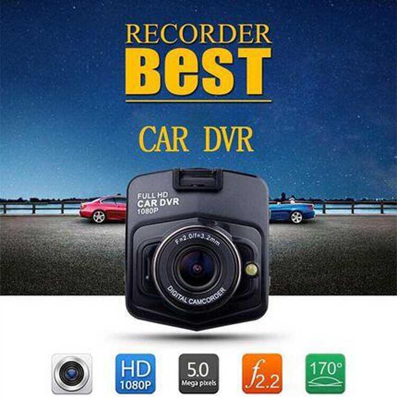 HD 1080P In Car DVR Camera Dash Cam Video Recorder Black Blue Night Vision G sensor