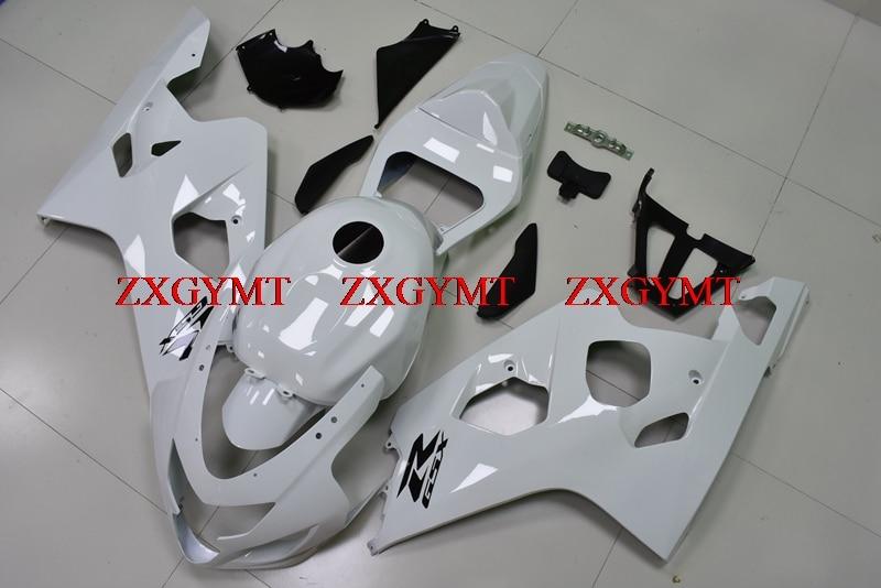 Fairing Kits for for Suzuki GSXR600 2004 - 2005 K4 Bodywork GSXR600 2004 White Plastic Fairings GSXR750 05Fairing Kits for for Suzuki GSXR600 2004 - 2005 K4 Bodywork GSXR600 2004 White Plastic Fairings GSXR750 05