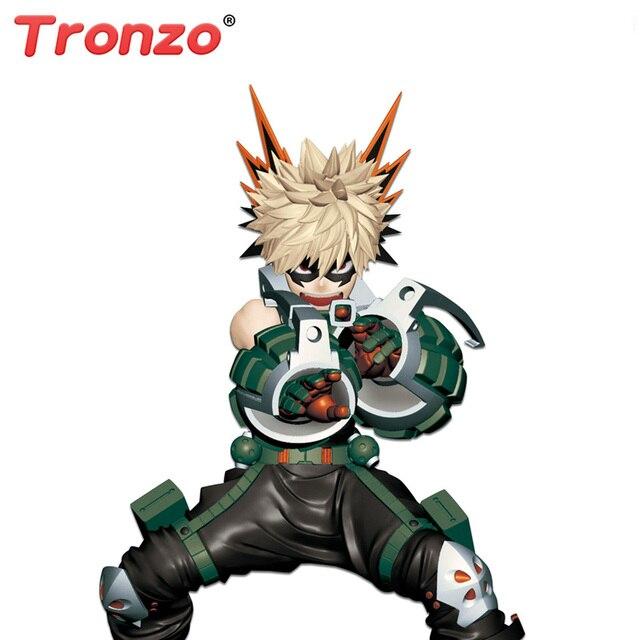 Tronzo שלי גיבור אקדמיה פעולה איור Boku לא גיבור אקדמיה Midoriya Izuku Bakugou Katsuki Todoroki Shoto PVC דגם בובת צעצועים