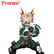 Tronzo My Hero Academia Aksiyon Figürü Boku hiçbir Kahraman Academia Midoriya Izuku Bakugou Katsuki Todoroki Shoto PVC Model oyuncak bebekler