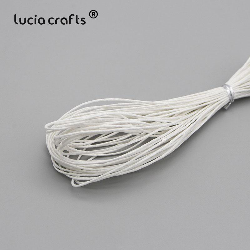 1 мм вощеная нить, хлопковый шнур, веревка, ожерелье, бусы, веревка, цвета, как показано на картинке(10 лет/Лот) W0703