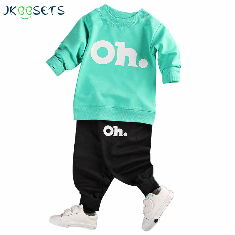 2017 Autumn Girls Clothing Set Long Sleeve Sports Suit For Boy Kids Clothes Sets Cotton Tracksuit for Girls  Clothes New Costume autumn winter girls children sets clothing long sleeve o neck pullover cartoon dog sweater short pant suit sets for cute girls