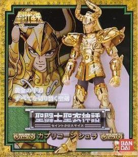 Anime Saint Seiya Original BANDAI Tamashii Nations Saint Cloth Myth 1.0 Soul of Gold Action Figure - Capricorn Shura CLOTH lc model toys saint seiya cloth myth ex gold saint capricorn shura action figure classic collection toys brinquedos