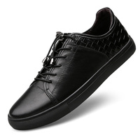Classic New Leather Leather Comfortable Sports Pure Leather Tide Brand Brand Spring Lock Buckle Shoes Large