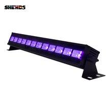 Ультрасветодио дный Фиолет светодиодный настенный светильник 12 светодио дный x 3 Вт светодио дный светодиодный вечерние бар Вечеринка диско-клуб свет для ландшафтного мытья стены сценический эффект света