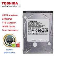 Toshiba 1TB HDD MQ04ABF100 Data Storage SATA3.0 5400RPM 16MB