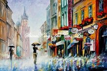 palette knife oil painting  modern oil painting canvas oil painting  K482