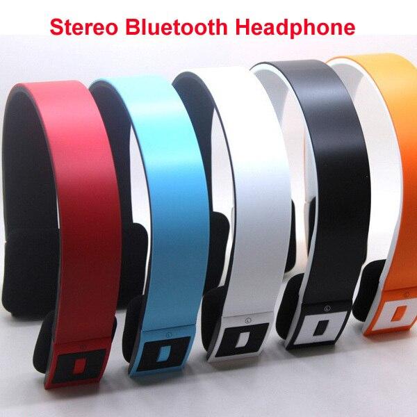 1PCS Free Shipping, High Quality Stereo Wireless Bluetooth Headphone, Top-grade Portable Bluetooth Sports Headband Headsets