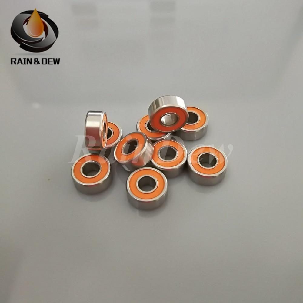 Ochoos New Time-Limited Steel S684 2rs S684zz Fishing Reel Bearings 4x9x4 Mm Hybrid Ceramic Ddl-940zz Abec7 S684rs Length: S684 ZZ, Diameter: 100PCS