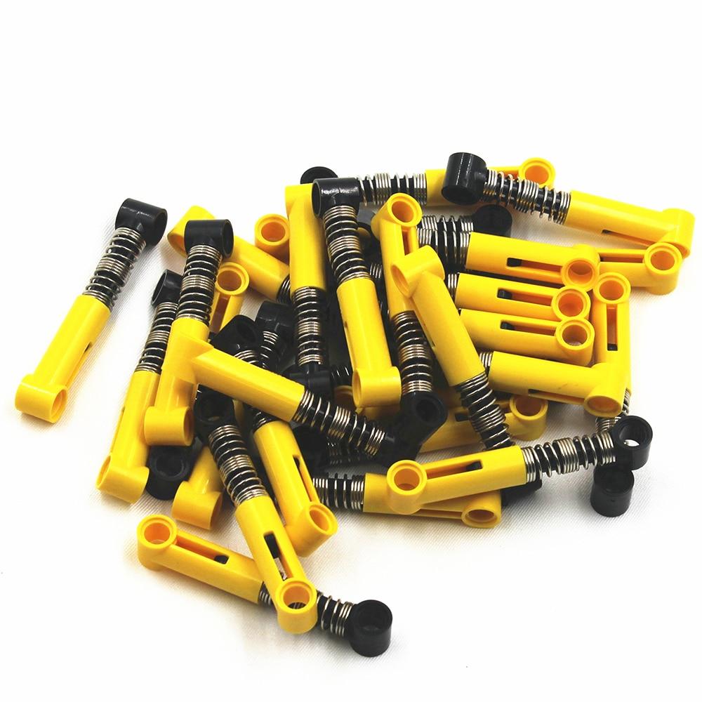 Self-Locking Bricks Shock Absorber 6.5L (Soft Spring) 15 Pcs/lot Compatible With Lego