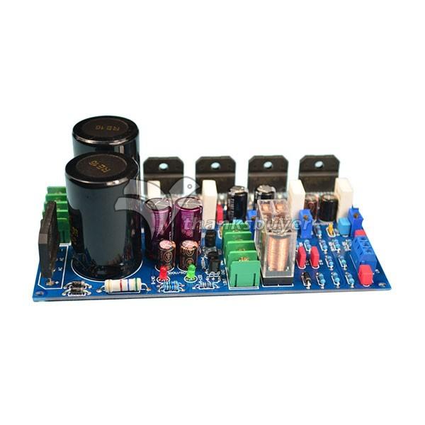 Montado 120 W 120 W placa amplificador LM3886 dupla de puro W / proteção