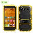 KEN XIN DA Проверки W6 4 Г FDD LTE Смартфон 8 ГБ IP68 водонепроницаемый 4.5 дюймов Andriod 5.1 MTK6735 Quad Core RAM 1 ГБ Клетки Телефон