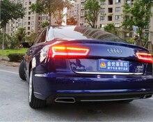 Luces traseras A6L A6 2012 2016, C7, accesorios para coche, faro A6L, luz trasera a6l LED, lámpara trasera A6L para coche