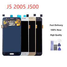 High Quality For Samsung GALAXY J5 J500 J500F J500FN J500M J500H 2015 LCD Display With Touch Screen Digitizer Assembly все цены