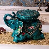 Слон для Обувь стул украшение дома Интимные аксессуары Гостиная как табурет пол украшения двигаться новый дом практичные подарки