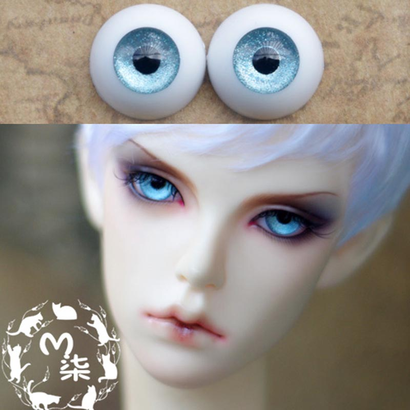 1Pair Retail High Quality BJD Doll Accessories 8MM 10MM 12MM  Acrylic Doll Eyes BJD Eyes 14MM high quality 1 pair right