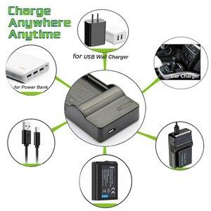 Image 3 - LANFULANG Camcorder Battery Charger Compatible For PANASONIC NV GS230 NV GS320 VDR D300 VDR M70 VDR M50 VDR D210
