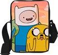 2016 Nova Pequeno Dos Desenhos Animados Adventure Time Crianças Sacos Do Mensageiro Estudante Mini Bolsa Fresco Sacos De Escola para Adolescentes Crianças