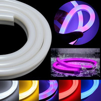 New 1 30m EU Plug Waterproof IP67 2835 SMD LED Flexible Neon Rope Strip Light Xmas